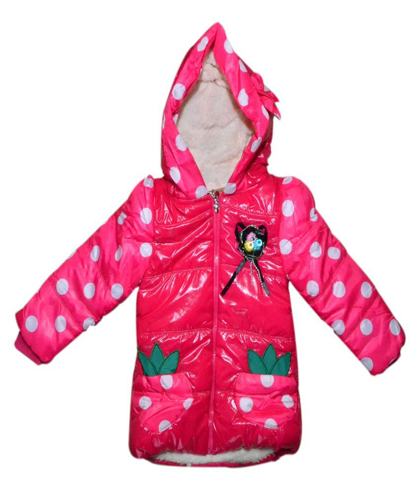Winter Fuel Pink Quilted Jacket