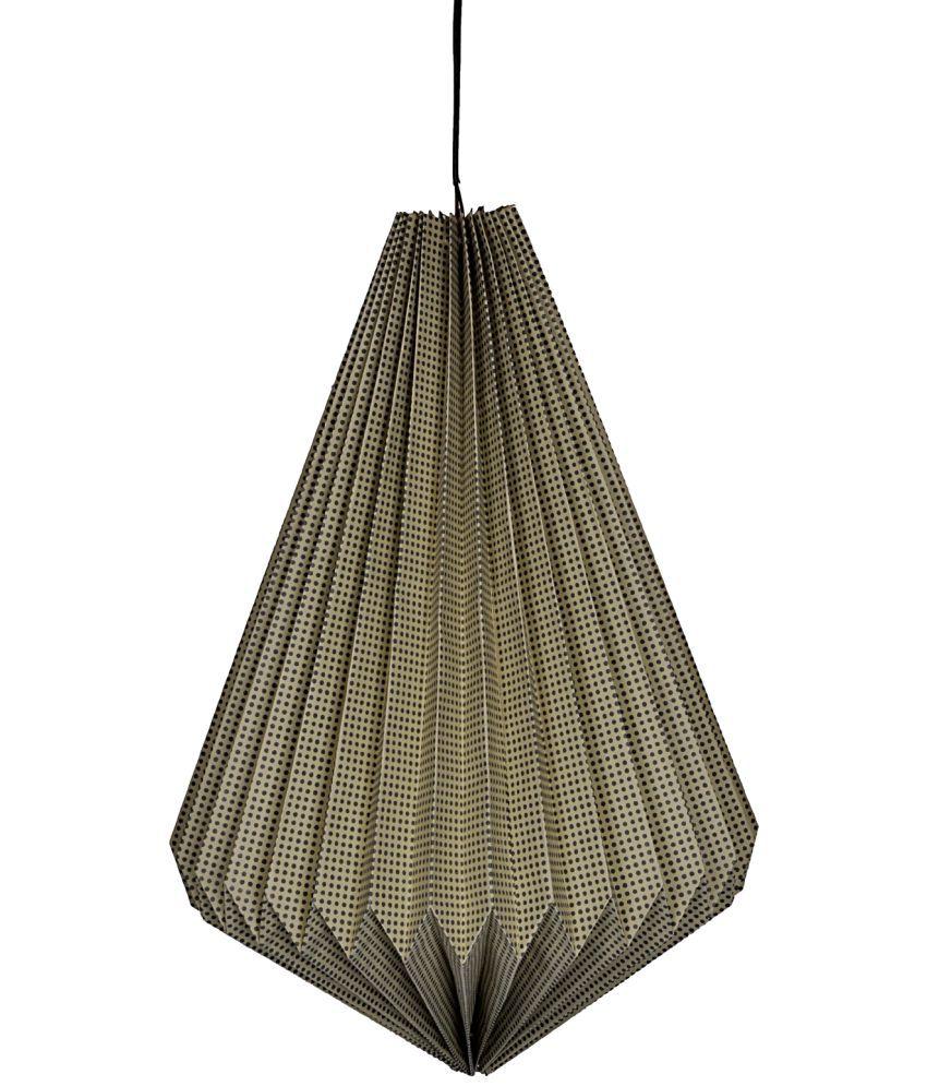 Lal Haveli Home Decorative Paper Lamp Hanging Lantern Indoor Ceiling ...