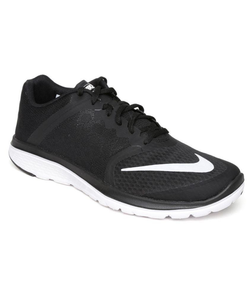 best website 4542d 930b5 Nike NIKE FS LITE RUN 3 Black Running Shoes