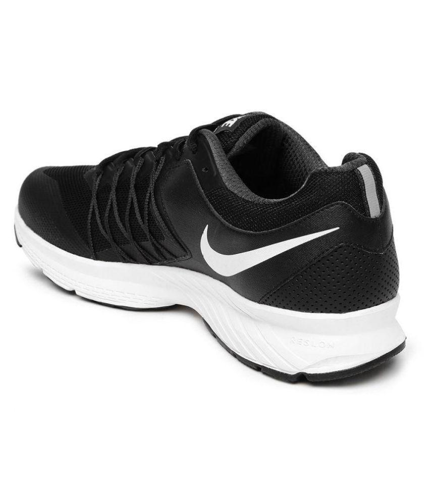 hot sale online 9bcef 67874 Nike AIR RELENTLESS 6 MSL Black Running Shoes