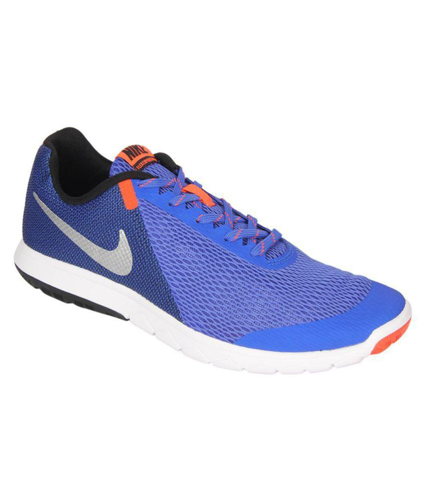 32567b9e19a2 Nike FLEX EXPERIENCE RN 5 Blue Running Shoes - Buy Nike FLEX EXPERIENCE RN 5  Blue Running Shoes Online at Best Prices in India on Snapdeal