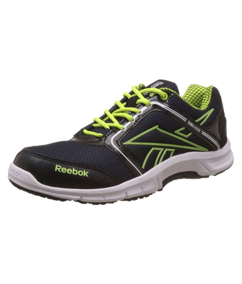 Reebok Black Running Shoes