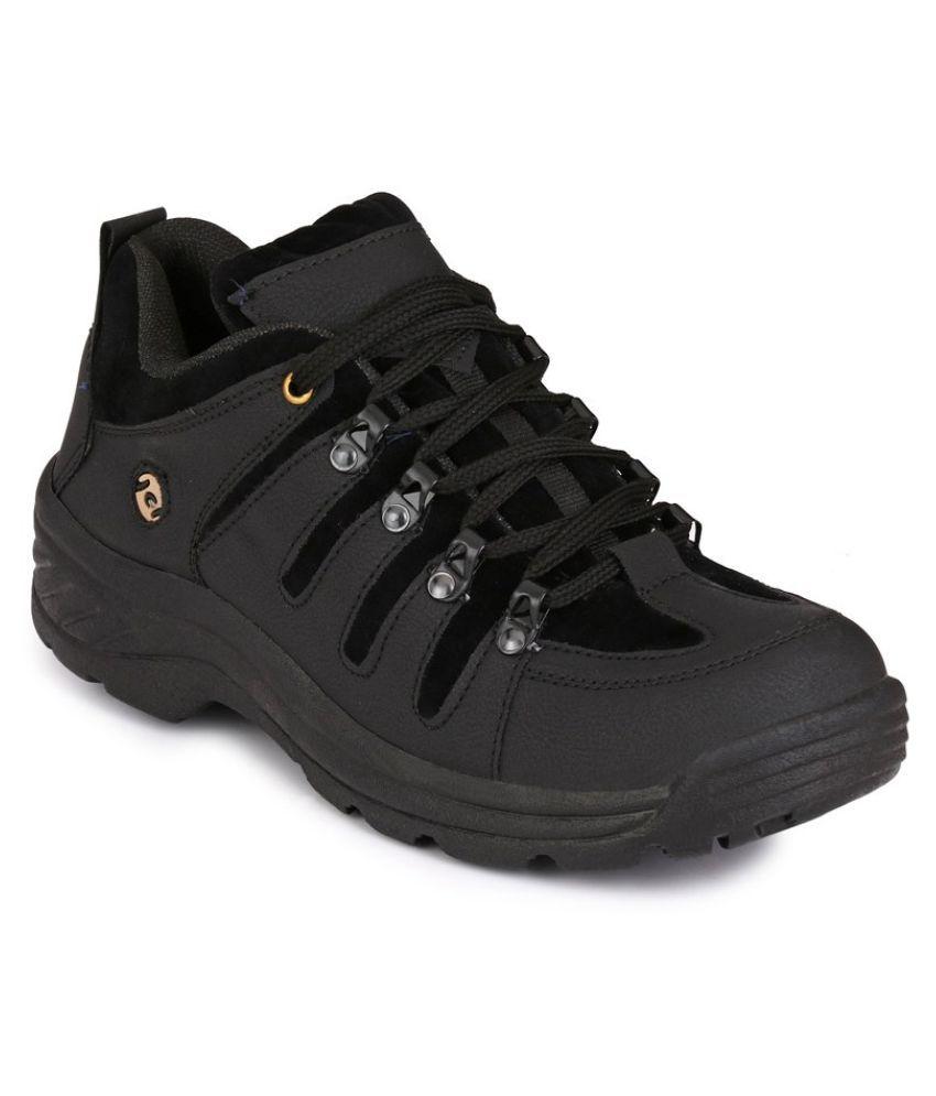 Woody JNW006850BLACK Black Running Shoes