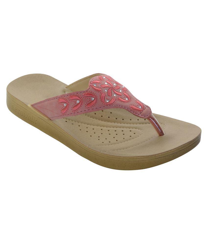 Aerowalk Pink Slippers