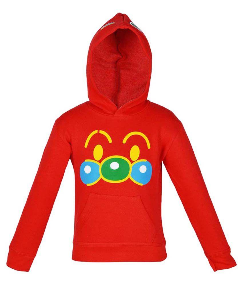 Gkidz Full Sleeve Hooded Sweatshirt