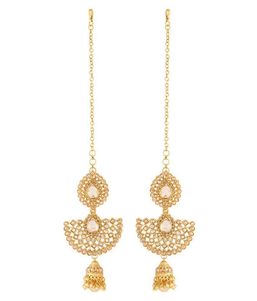 Voylla  Earrings With Pearls For Women