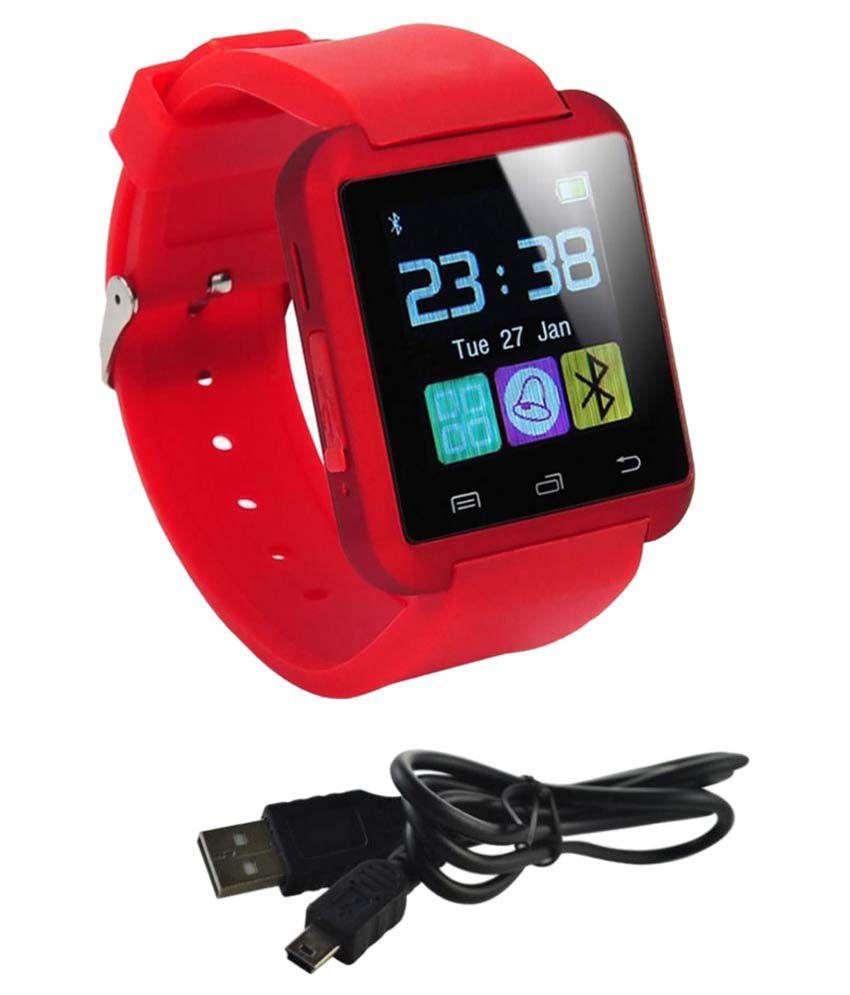 AKIRA selfie 2 Smart Watches Red