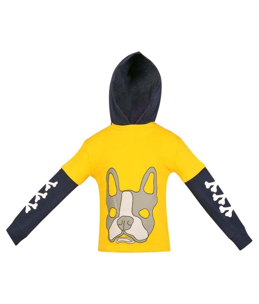 Gkidz Girls Full Sleeve Hooded Sweatshirt