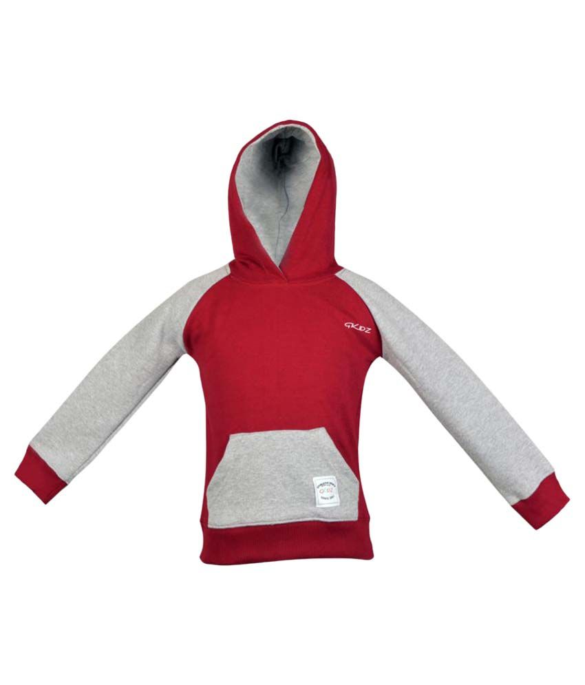 Gkidz Maroon Fleece Sweatshirt
