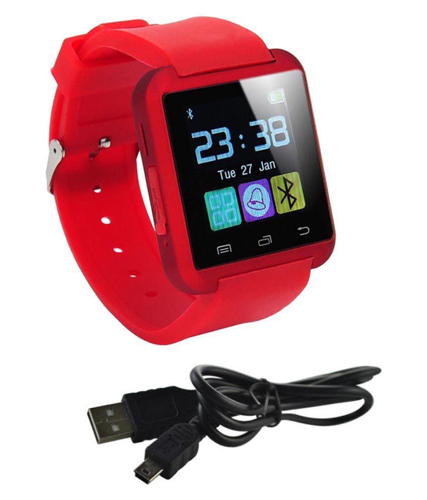 AKIRA fire 4g Watch Phones Red