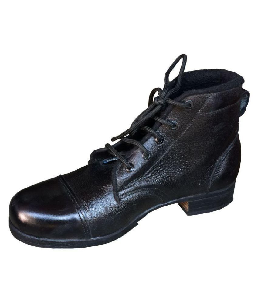 Kalakari E Shop Black Casual Boot