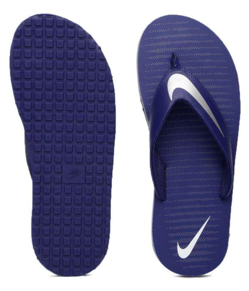 93c98b88a2cc Nike Blue Thong Flip Flop Art n833808402 Price in India- Buy Nike ...