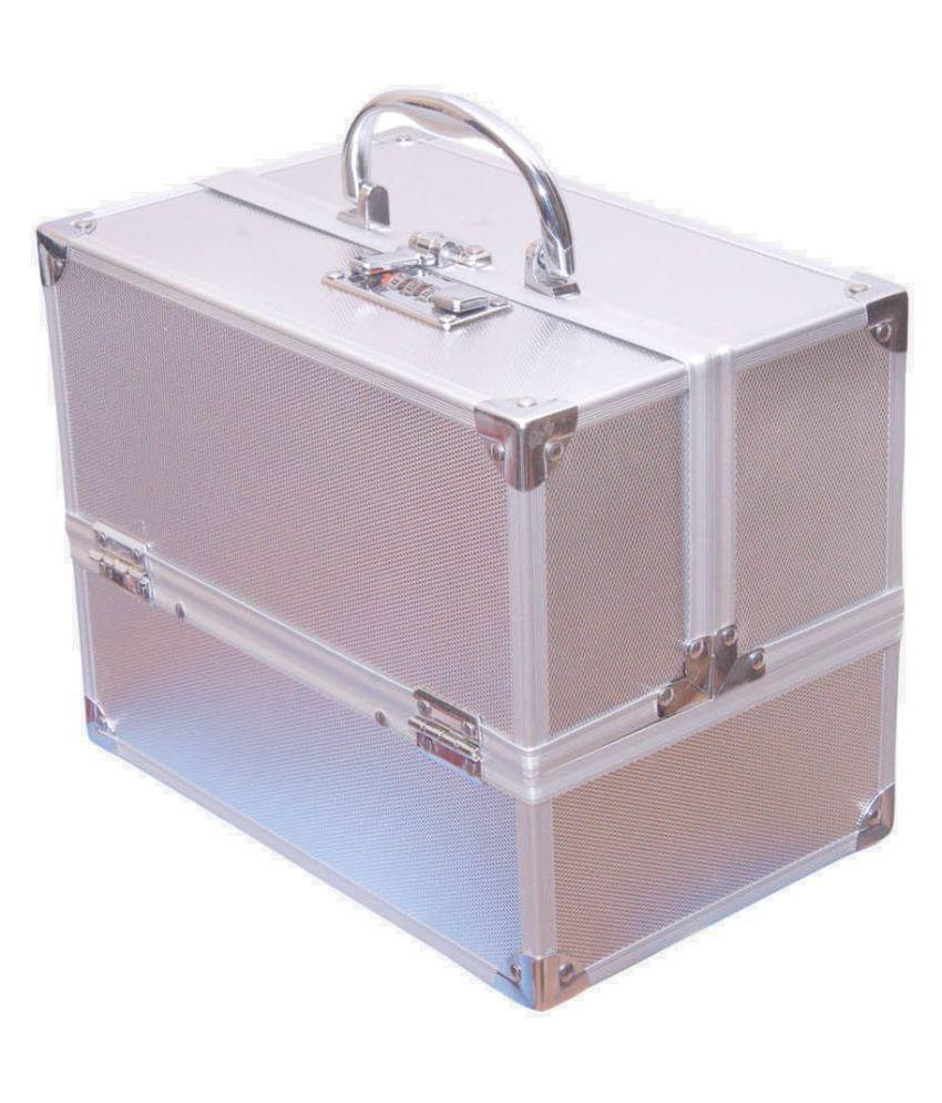 Bonanza Silver Alluminium Jewelry Box