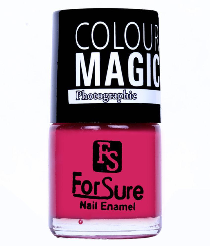 ForSure PREMIUM GLAM SHINE Nail Polish Pink Glossy 10 ml