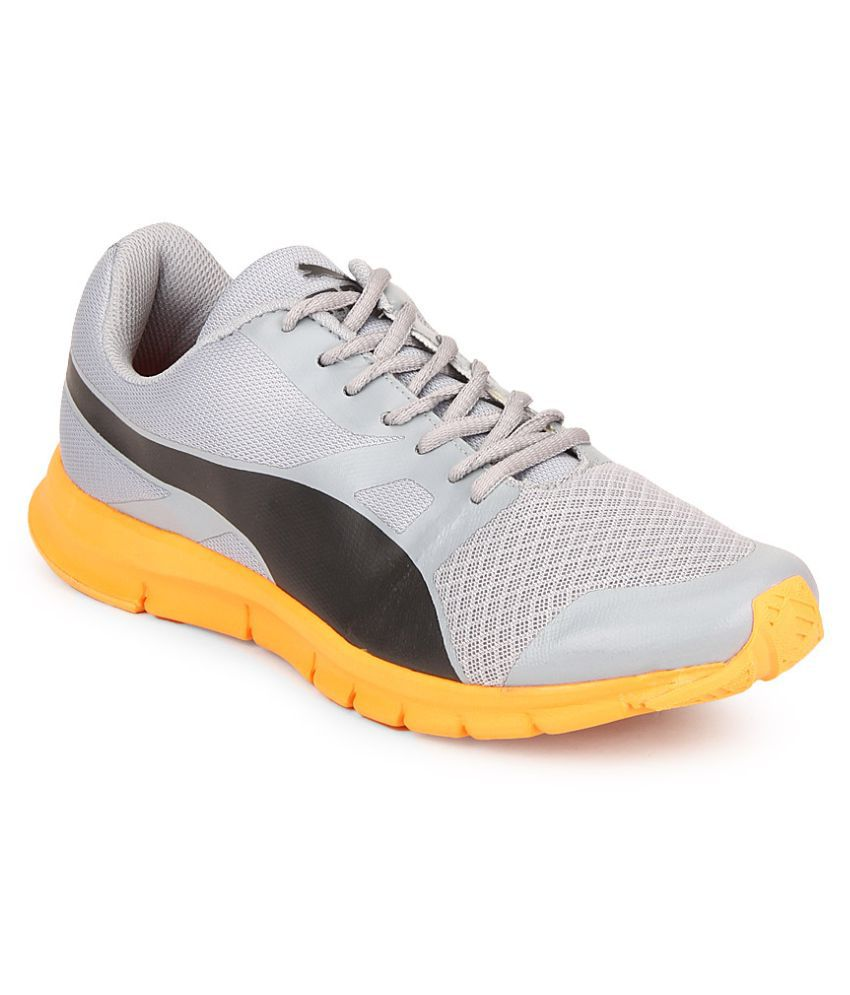 Puma Flexracer DP Gray Running Shoes ...
