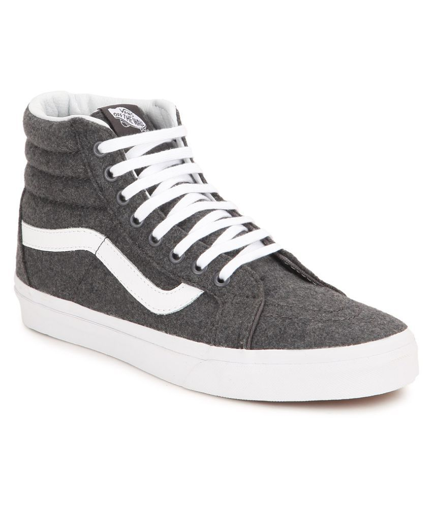 VANS SK8-Hi Reissue Sneakers Black Casual Shoes - Buy VANS SK8-Hi Reissue  Sneakers Black Casual Shoes Online at Best Prices in India on Snapdeal 544ec7454