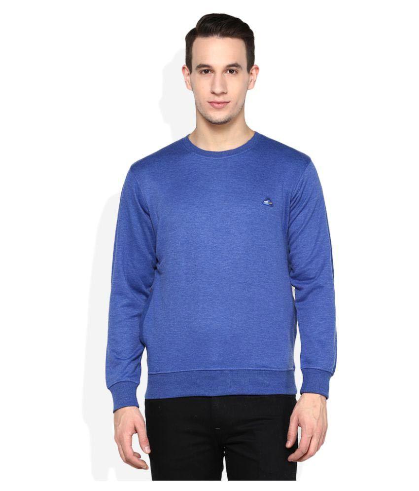Monte Carlo Blue Round Sweatshirt