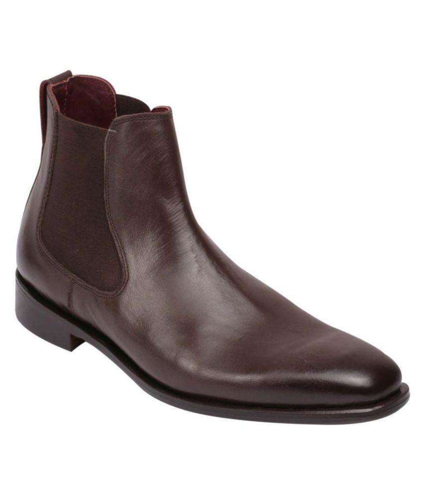 Harrykson London Brown Chelsea boot
