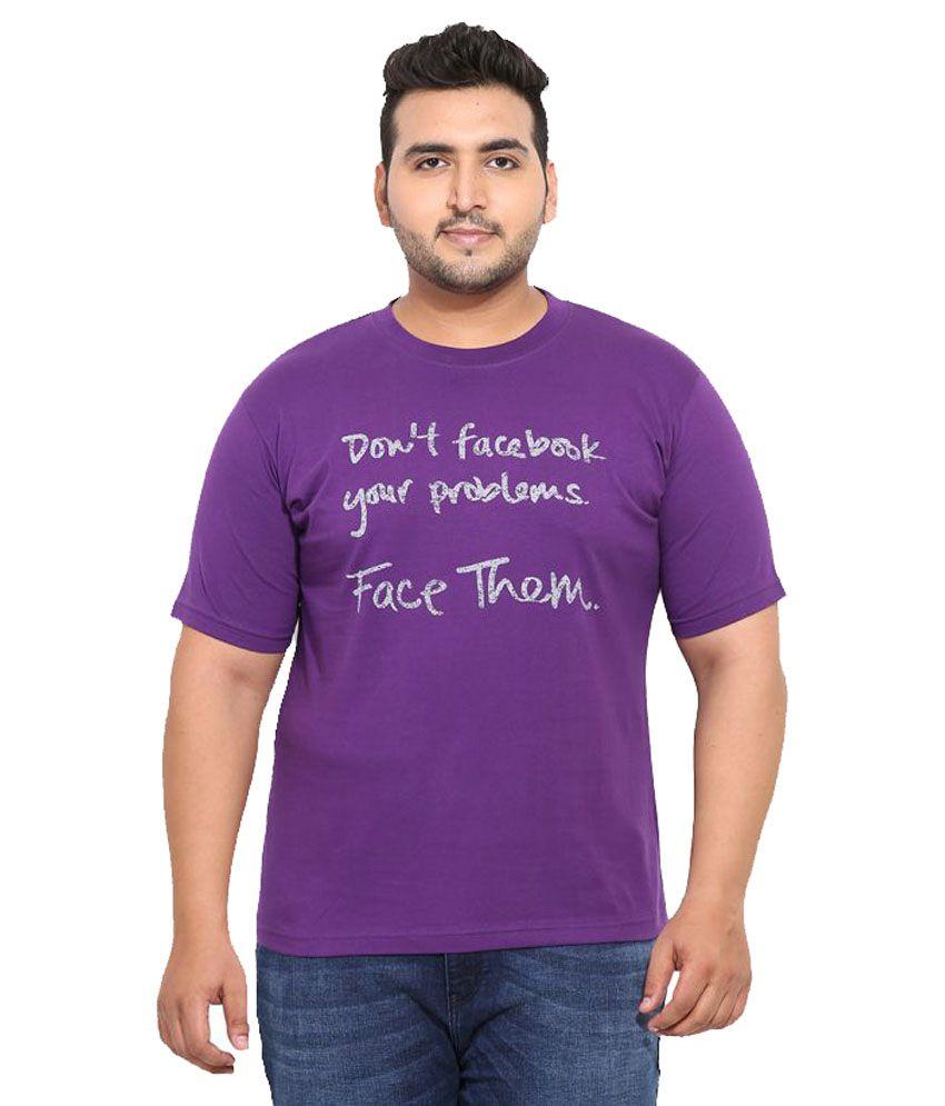 John Pride Purple Round T-Shirt