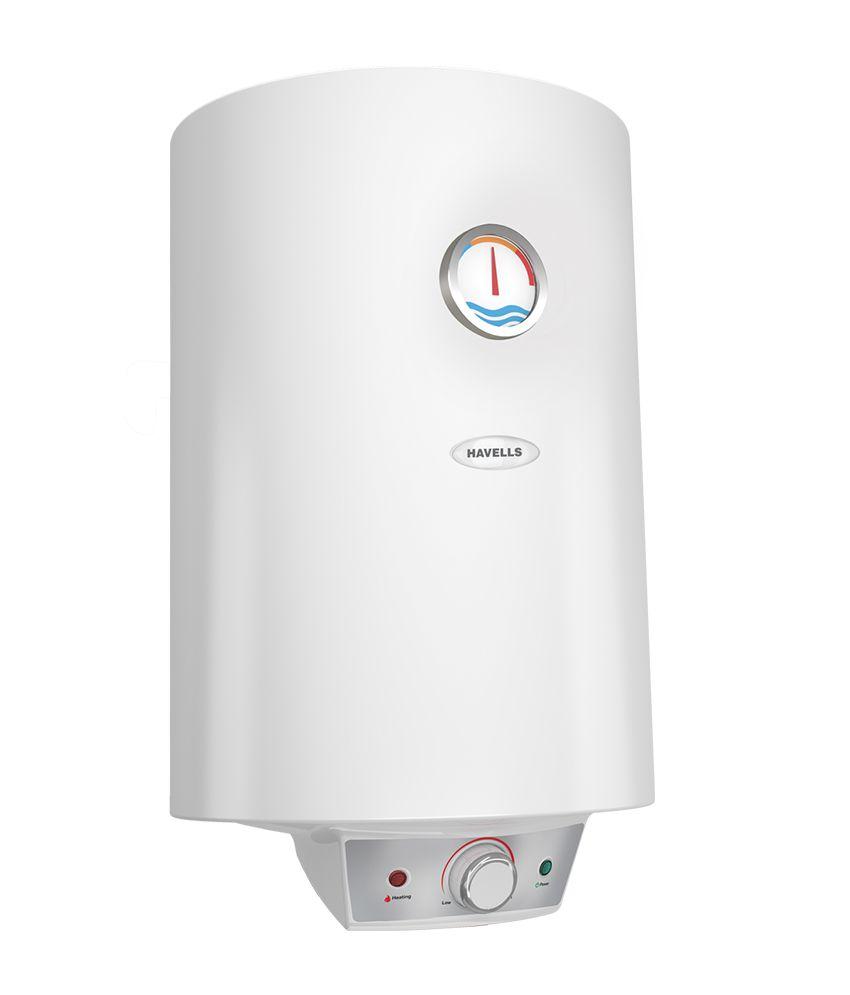 25 White Bathroom Ideas Design Pictures: Havells 25 Ltr Monza EC 5S Storage Geyser White Price In