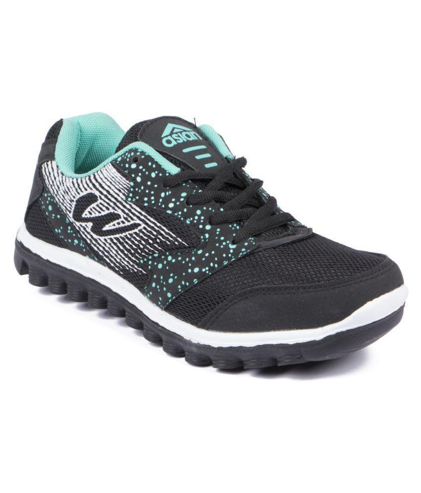 a2f2cfd88b6fa2 ASIAN Black Running Shoes Price in India- Buy ASIAN Black Running Shoes  Online at Snapdeal