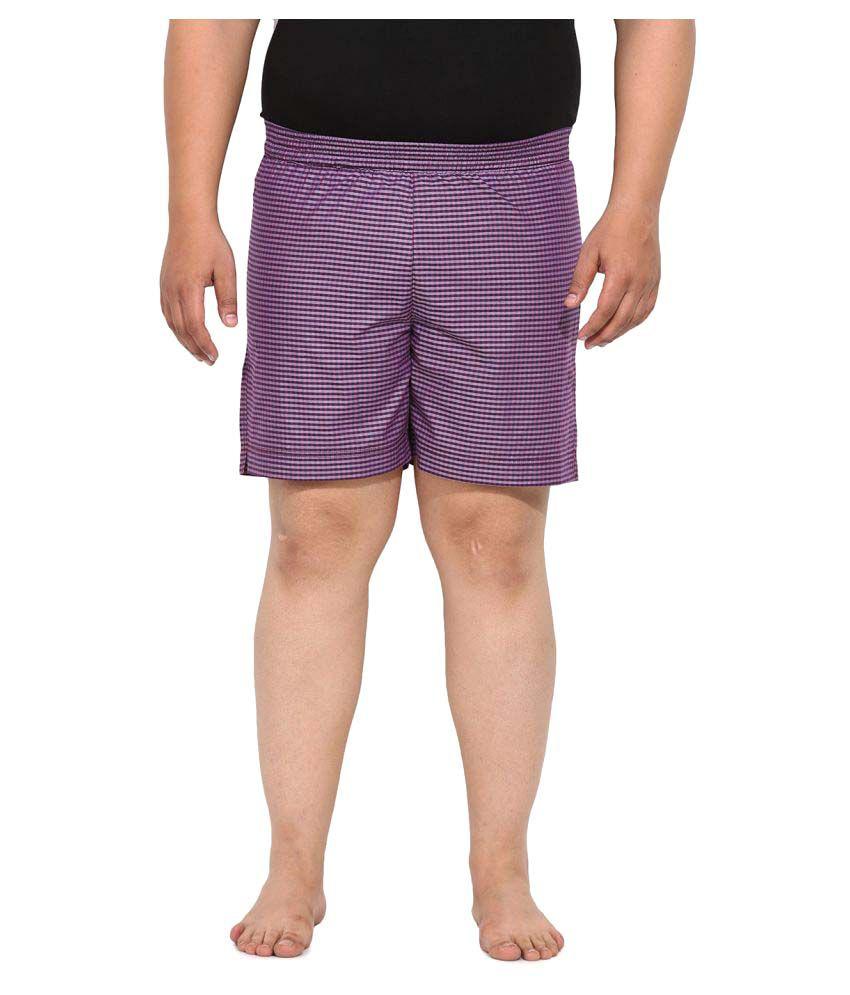 John Pride Purple Shorts