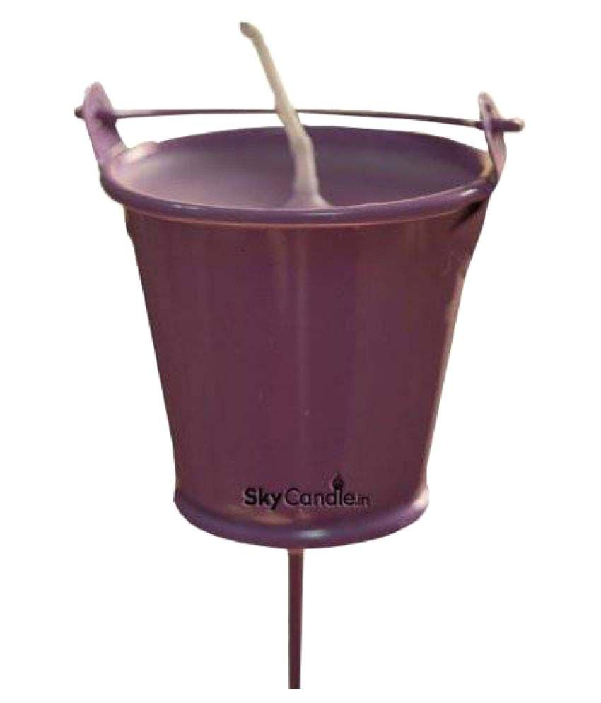 Skycandle Votive Candle Purple Single