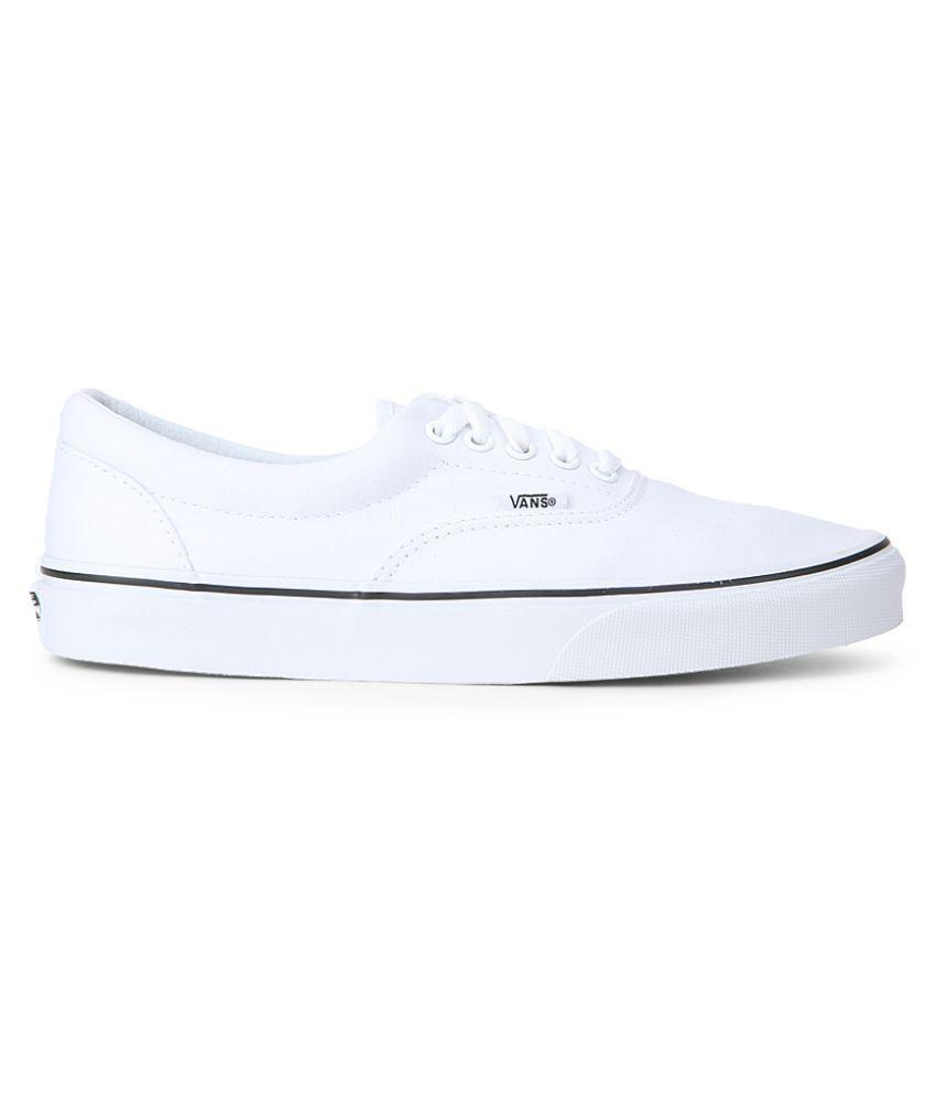 acdee80845 VANS White Sneakers Price in India- Buy VANS White Sneakers Online ...