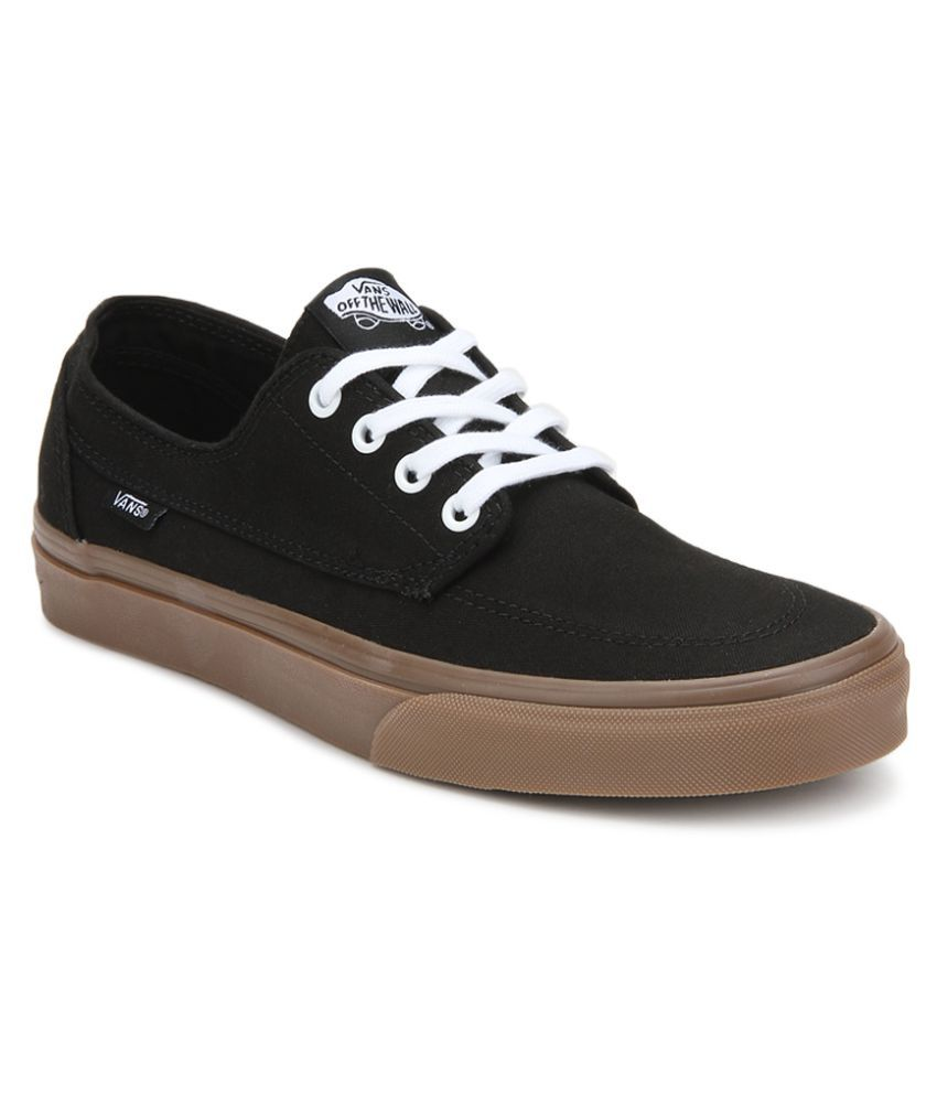 4bc517b31fe81c Vans Brigata Sneakers Black Casual Shoes - Buy Vans Brigata Sneakers Black  Casual Shoes Online at Best Prices in India on Snapdeal