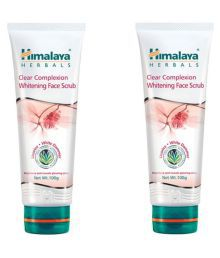 Himalaya Clear Complexion Whitening Face Scrub 100 G Pack Of 2