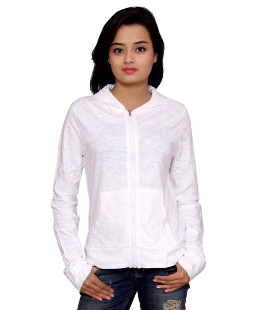 SML Originals White 100% Cotton Light Weight Jacket