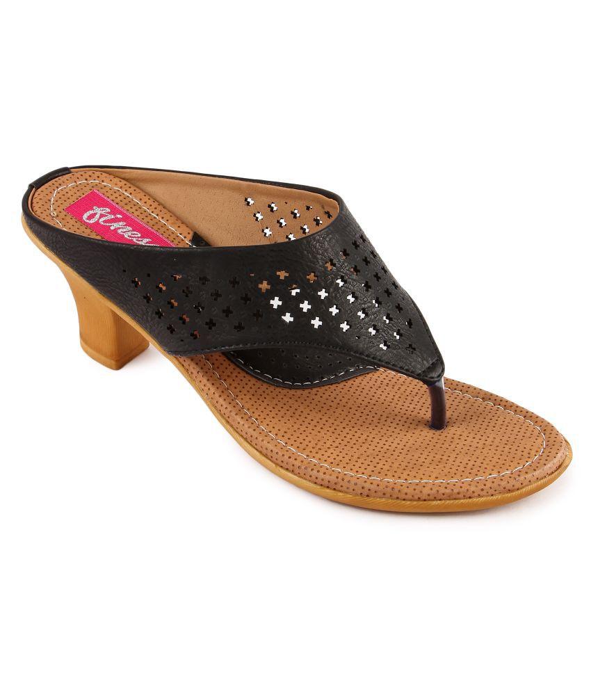 Finesse Black Heels