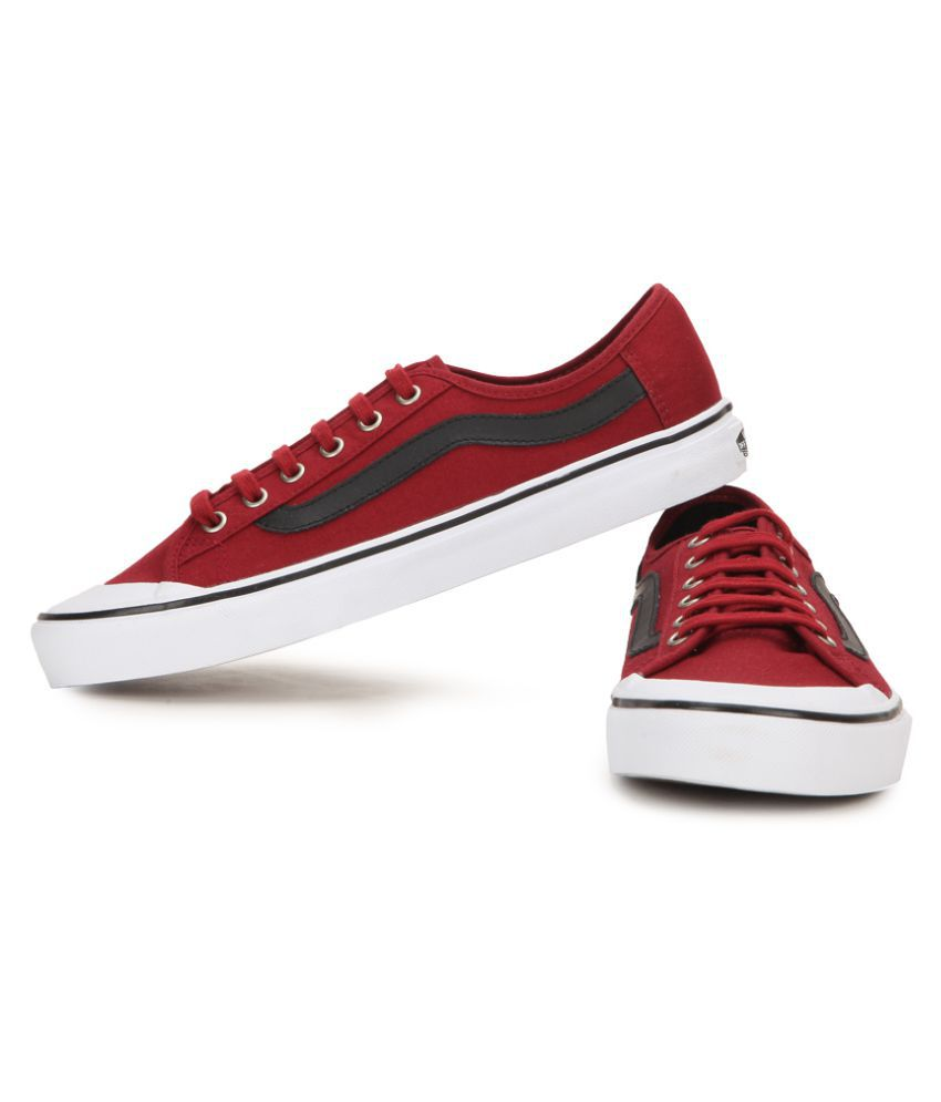 Red and Black Ball Shoes