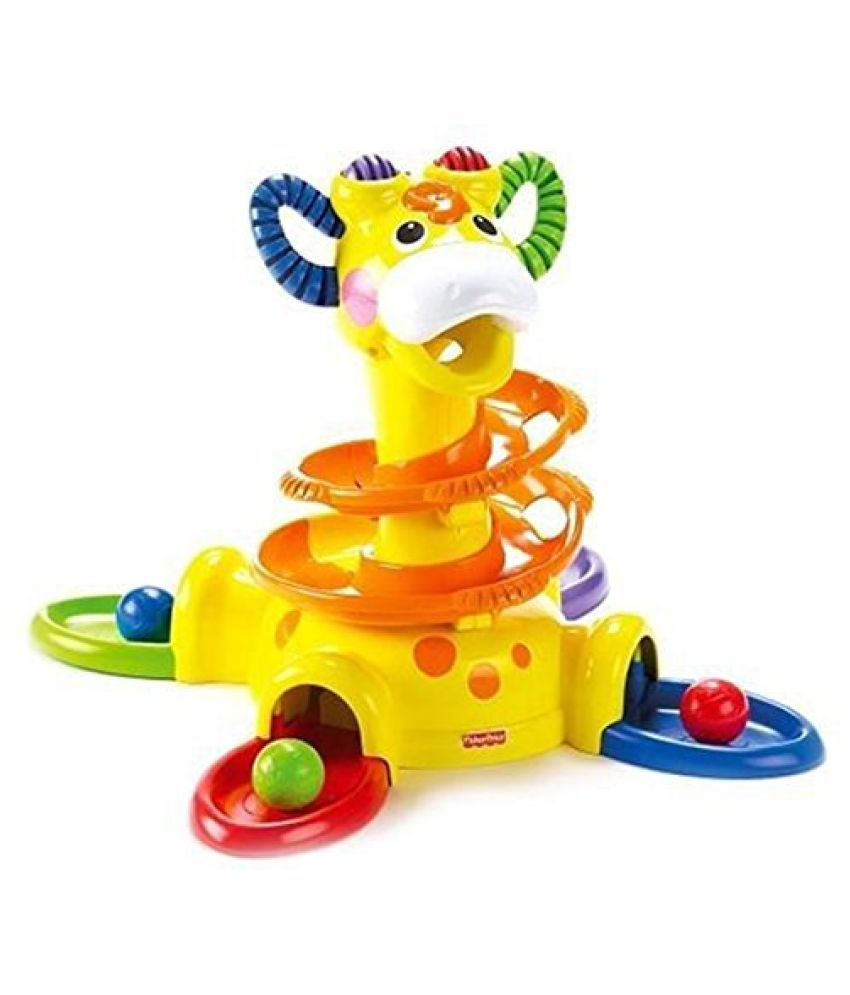Fisher-Price Go Baby Go Sit-To-Stand Giraffe kids educational playing toy