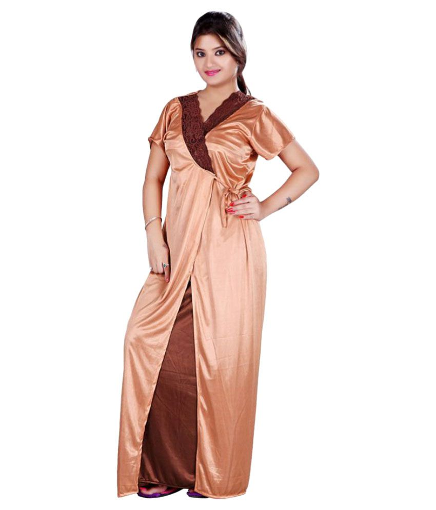 Buy Bailey Satin Nighty & Night Gowns Online at Best Prices in India ...