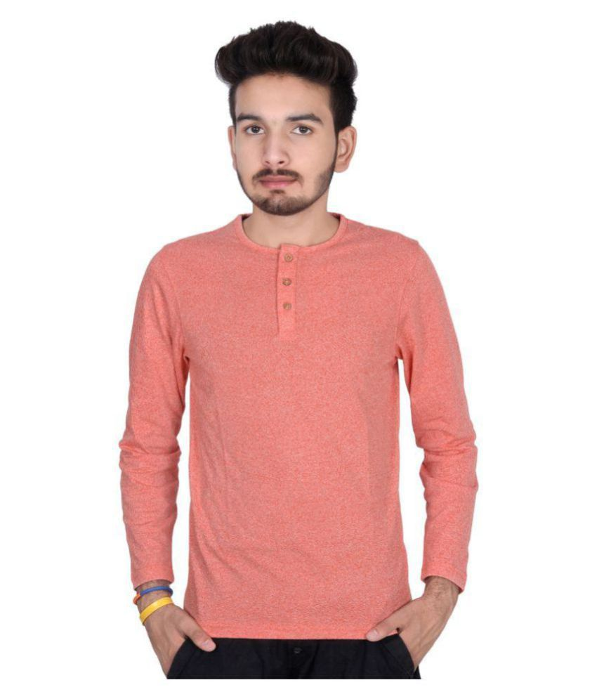 Decot Paradise Orange Round T-Shirt
