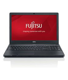 Fujitsu LIFEBOOK A555 Notebook (5th Gen Intel Core i3- 8 GB RAM- 1 TB HDD- 39.62cm(15.6)- DOS) (Black)