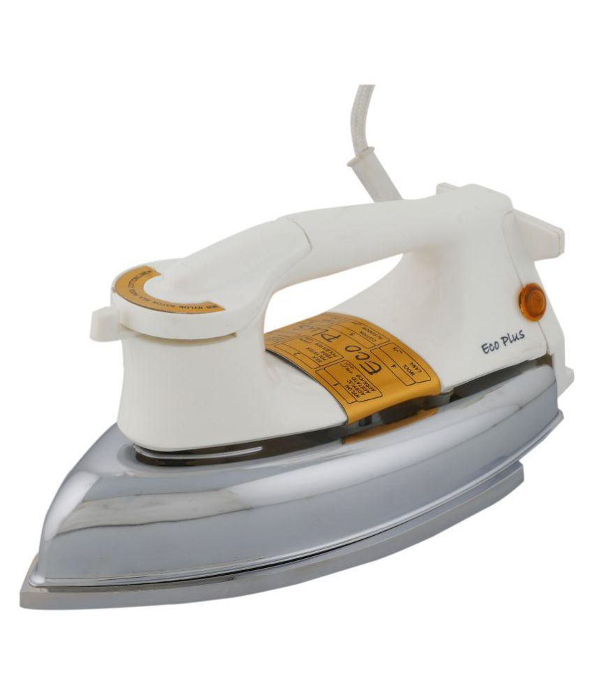 Eco Plus Golden Heavy Weight 1000W Dry Iron