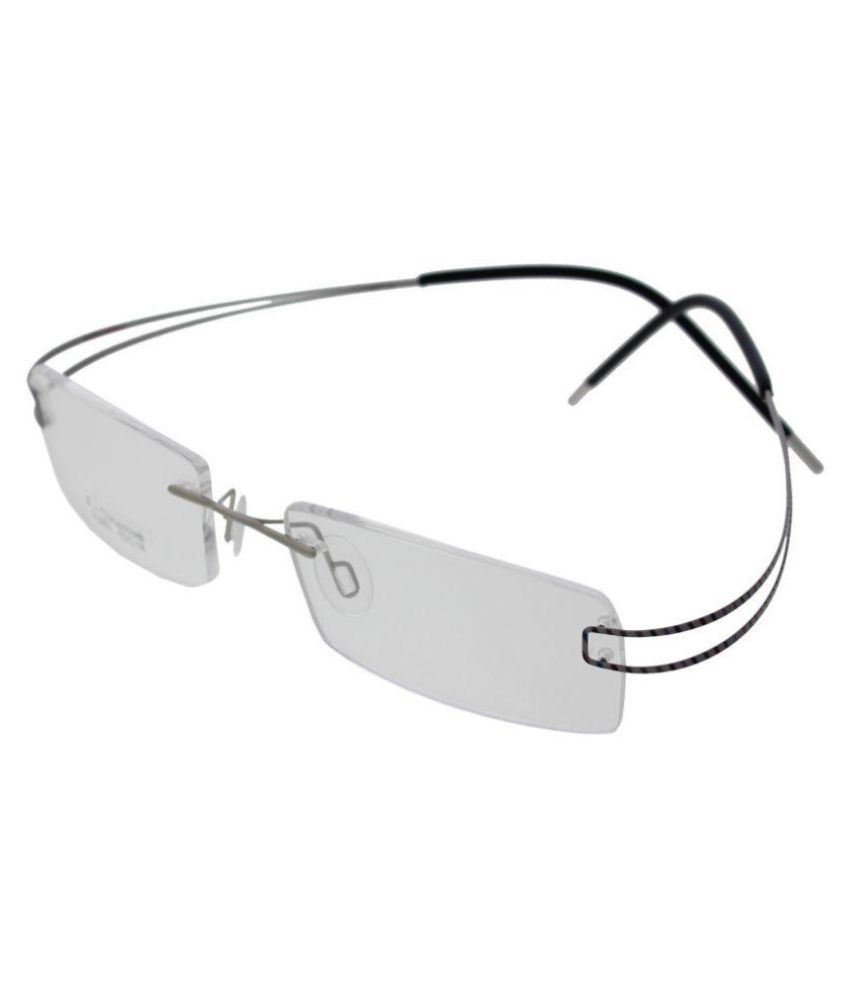 Vast Clear Rectangle Sunglasses ( 76131 )