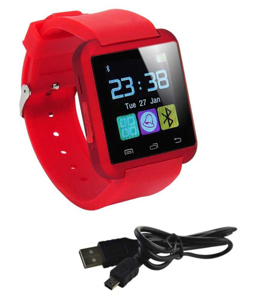 MOBICELL star l Smart Watches Red