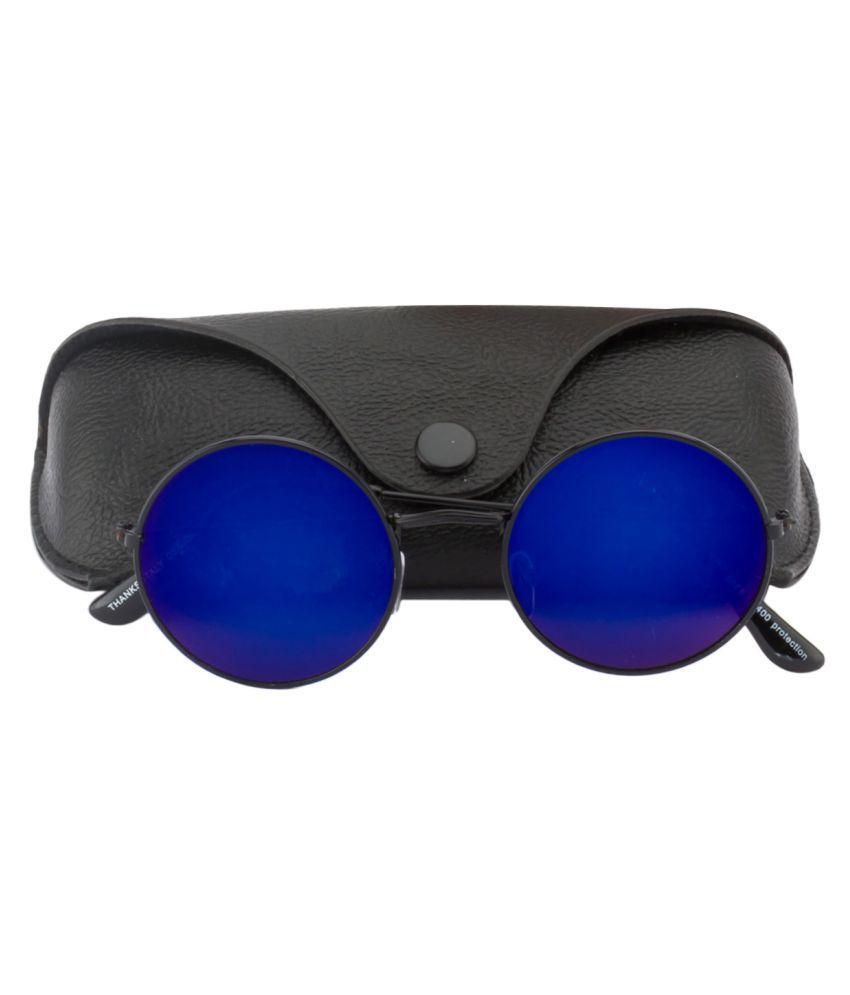 89dcea4db4dc Ochila Blue Round Sunglasses ( R1122 ) - Buy Ochila Blue Round ...