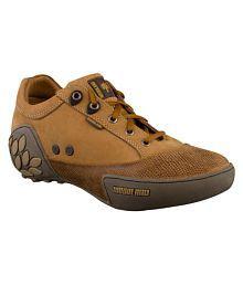Woodland GC 0549108Y15-CAMEL Outdoor Copper Casual Shoes