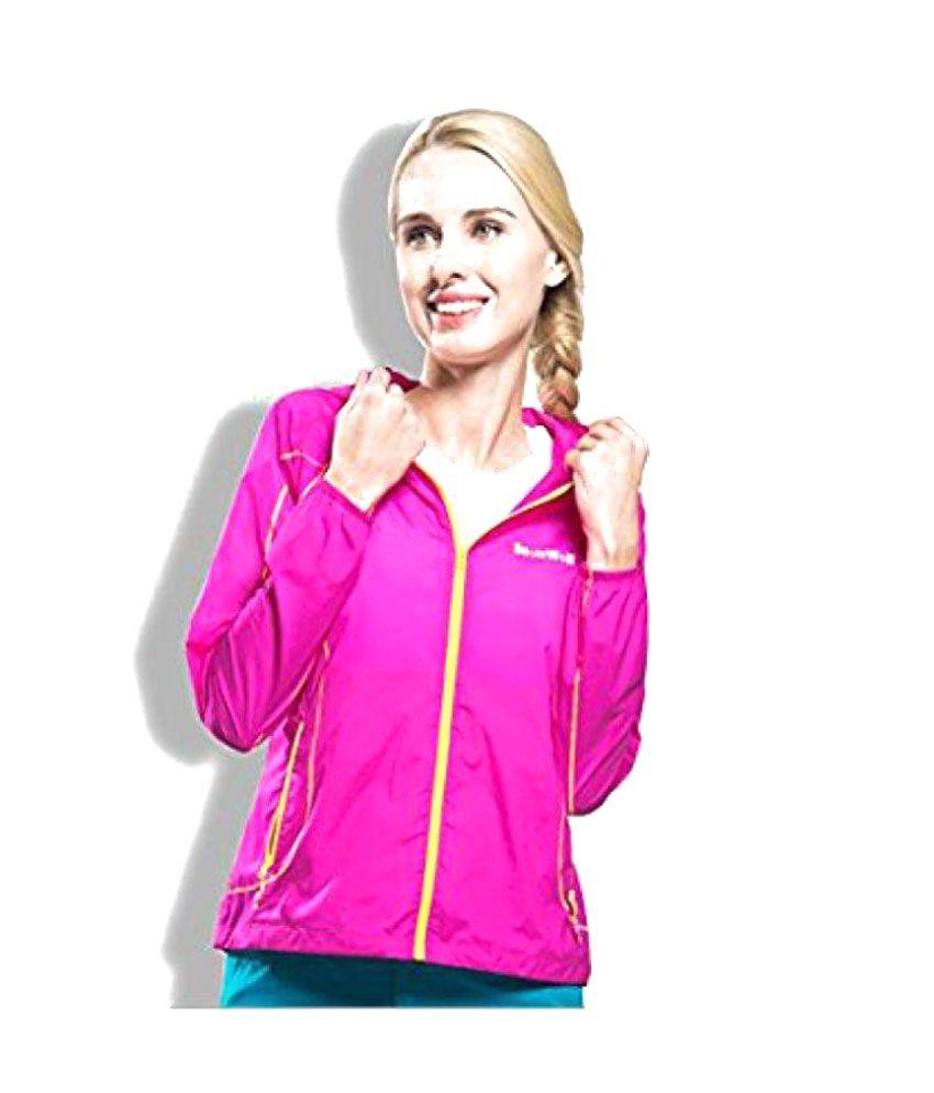 Nimble House Nylon Pink Apparel Topwear L