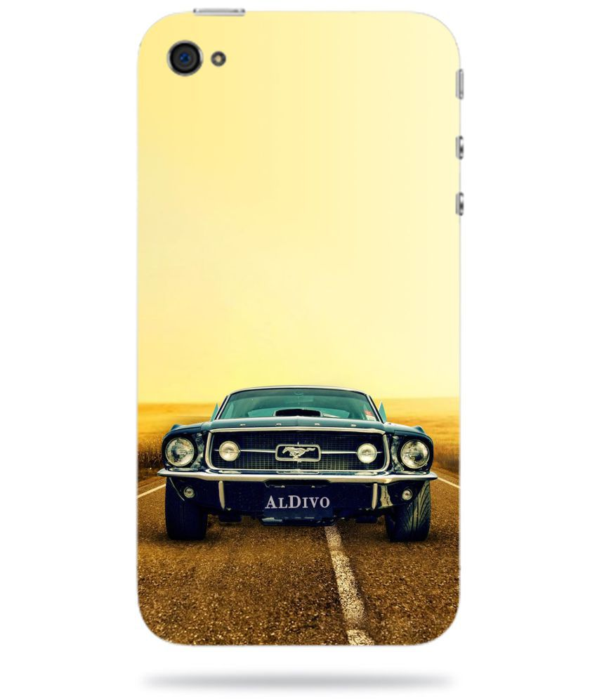 Apple iPhone 4S Printed Cover By ALDIVO