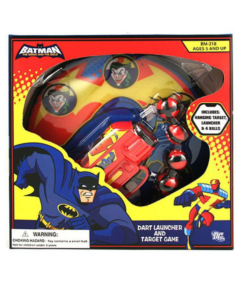 Batman Dart Launcher and Target Game