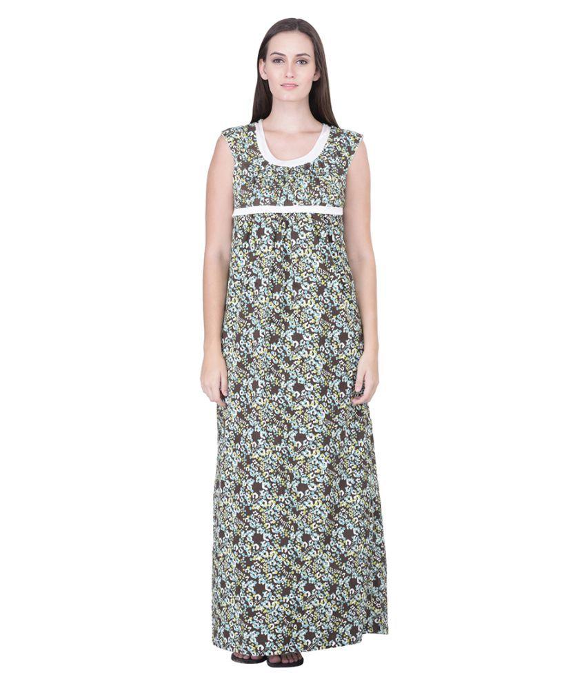 Honeydew Cotton Nighty & Night Gowns