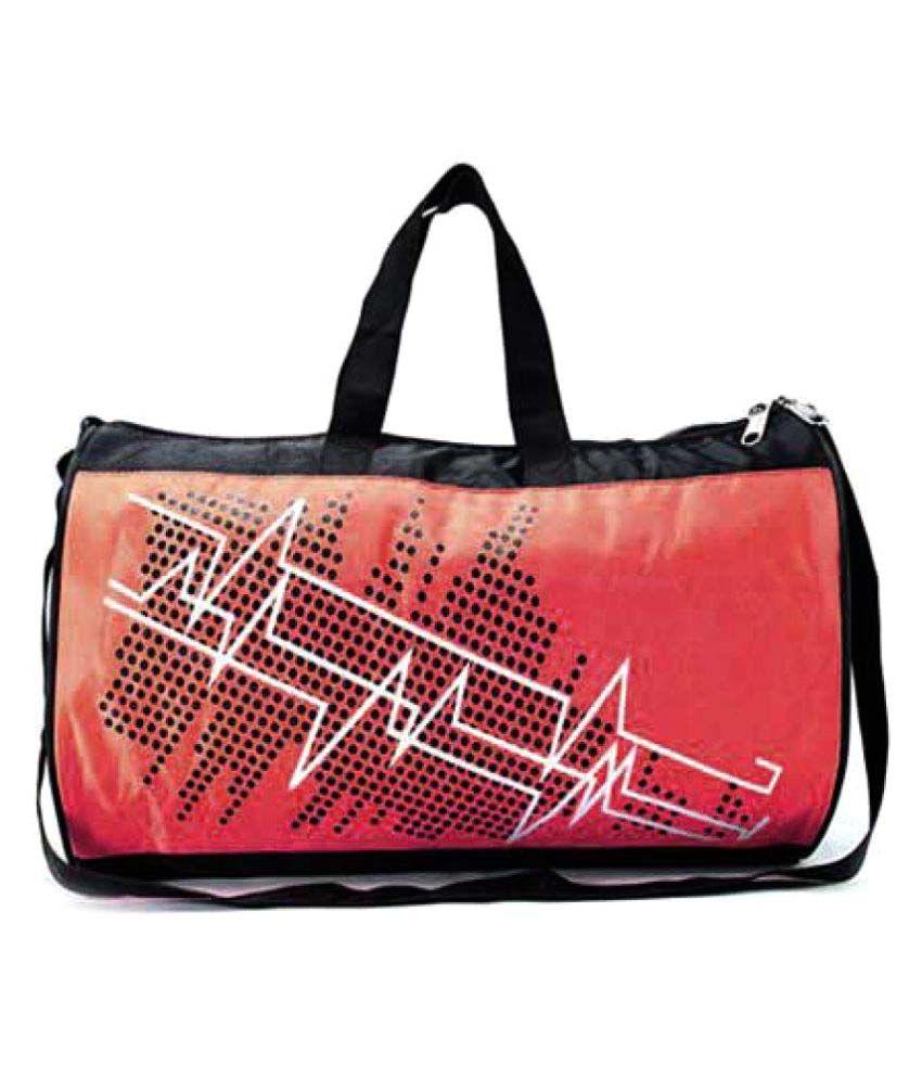 Shopomatix Red Gym Bag