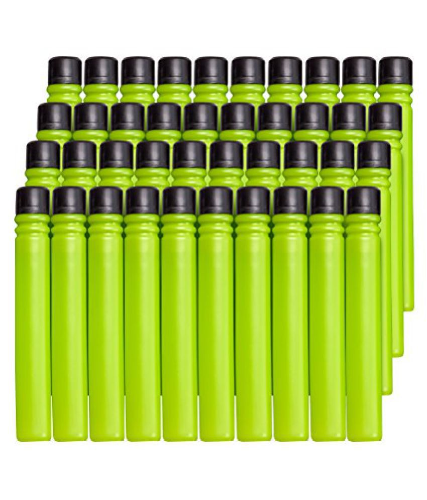 BOOMco. Dart 40-Pack, Green with Black Tip