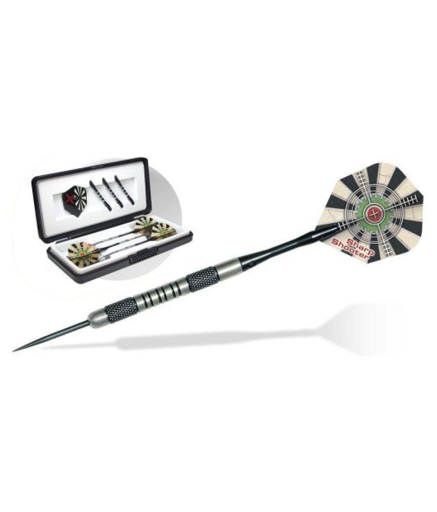 Dart World 18023 Sharp Shooter 80% Tungsten Steel Tip Dart (23-Gram)