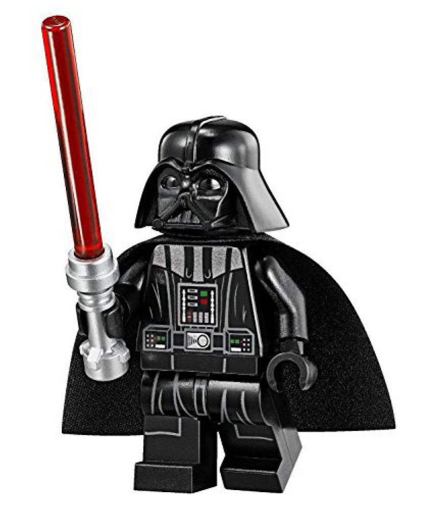 LEGO Star Wars Minifigure - Darth Vader with Tan Head & Red Lightsaber Imperial Star Destroyer